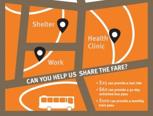 share the fare